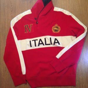 VTG Ralph Lauren Italia Polo Team IV Sweater Large